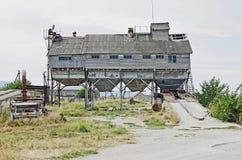 Vieux grain-dessiccateur photo libre de droits