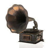 Vieux Grammophone Images libres de droits