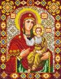 Vieux graphisme orthodoxe Photo stock