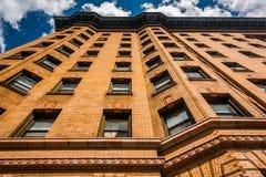 Vieux gratte-ciel Mount Vernon, Baltimore, le Maryland Image libre de droits