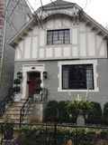 Vieux Gray House Photos libres de droits