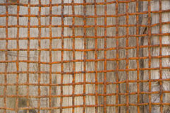 Vieux gril rouillé Photo libre de droits