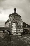 Vieux hôtel de ville Bamberg Photo stock
