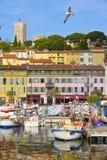 Vieux-Hafen in Cannes, Frankreich Stockfotografie