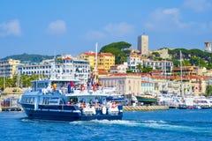 Vieux-Hafen in Cannes, Frankreich Stockfotos