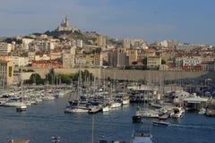 Vieux-Hafen Marseille Stockbild