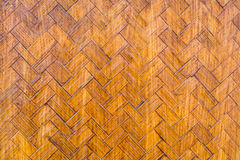 Vieux handcraft le fond en bambou de texture d'armure Images stock
