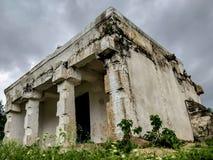 Vieux hdr indien de temple image libre de droits