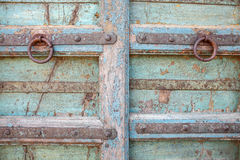 Vieux heurtoir de porte Photographie stock