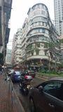Vieux Hong Kong Building typique images libres de droits