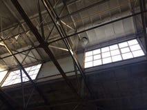 vieux industriel de construction Photographie stock
