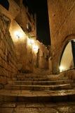 Vieux Jaffa la nuit photo libre de droits
