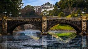 vieux japonais de passerelle photographie stock