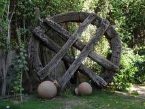 Vieux jardin Photo libre de droits