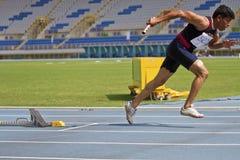 Vieux jeu d'athlétisme Images stock