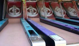 Vieux jeux grunges de carnaval Images stock