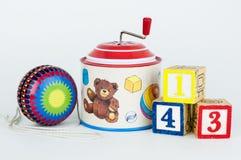 Vieux jouets Images libres de droits