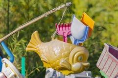 Vieux jouets, souvenirs Image libre de droits