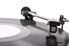 Vieux joueur de vinyle Photo libre de droits