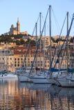 Vieux Kanal - Marseille - Süden von Frankreich Stockfotos