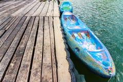 Vieux kayak Image stock