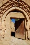 Vieux ksar dans les ruines. Rissani, Maroc image stock