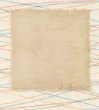 Vieux label de textile photos stock