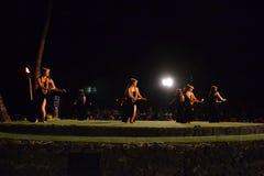 Vieux Lahaina Luau Photo stock