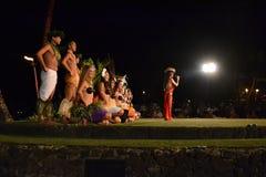 Vieux Lahaina Luau Photographie stock