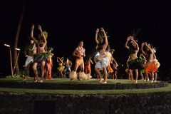 Vieux Lahaina Luau Images stock