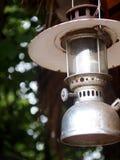 Vieux lampe de conception décorée de vintage rétro par style Photos libres de droits
