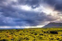Vieux Lava Field Photos libres de droits