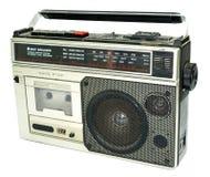 Vieux lecteur de cassettes modifié de type des années 80 Photographie stock