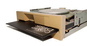 Vieux lecteur de disquettes Photos libres de droits