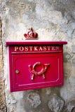 Vieux letterbox allemand Photo libre de droits