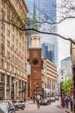 Vieux lieu de réunion du sud Boston Photographie stock libre de droits