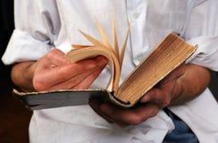 Vieux livre Image stock