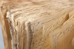 Vieux livre #5 Photographie stock libre de droits