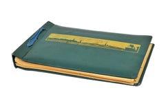 Vieux livre, album photos Photographie stock libre de droits
