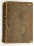 Vieux livre brun photographie stock