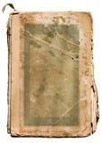 Vieux livre déchiré en lambeaux sur le blanc photos libres de droits