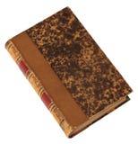 Vieux livre d'isolement sur un blanc? Photographie stock