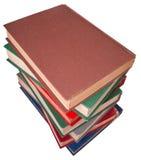Vieux livre de pile Photo libre de droits