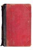 Vieux livre de rouge de cru Photographie stock libre de droits