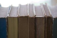 Vieux livre en gros plan Photographie stock libre de droits