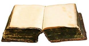 Vieux livre ouvert Image libre de droits