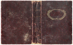 Vieux livre ouvert 1918 Images stock