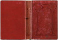 Vieux livre ouvert 1905 Image stock