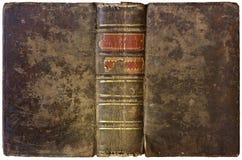 Vieux livre ouvert 1750 Photographie stock