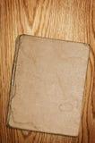 Vieux livre sur le bois Image libre de droits